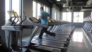 How to Reduce Calf Size on a Treadmill : Fitness Exercises