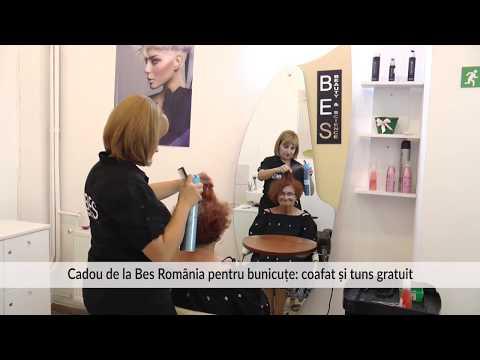 Cadou de la Bes România pentru bunicuțe: coafat și tuns gratuit
