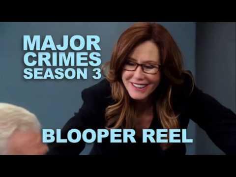Major Crimes | Season 3 - Gag Reel
