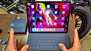 8. Apple iPad Pro 12.9� 2018!! • My Everyday Workflow! | TheSmoaks Vlog_1112