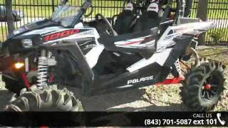 2. 2014 Polaris® RZR® XP 1000 EPS White Lightning LE  - Ch...