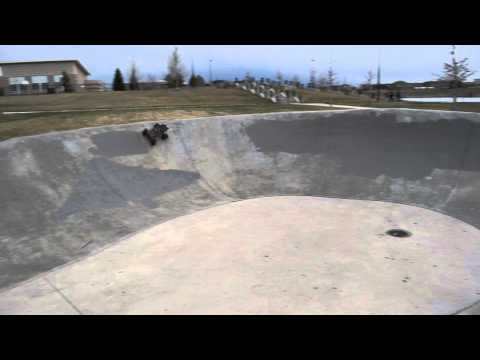 RC Dream Track!  Traxxas Stampede & Losi SCT at Skate Park - Green Valley Ranch