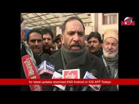 On separatists call, Jammu and Kashmir High Court Bar Association holds protest.