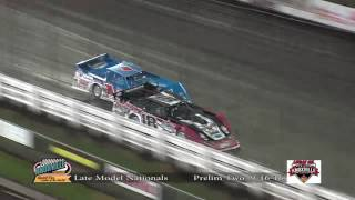 Lucas Oil Late Model Knoxville Nationals Night #2 9-16-2016
