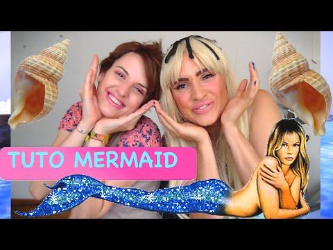 TUTO pour devenir une sirène!!! Eglandine the MERMAID!