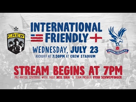fc - The Columbus Crew plays host to Barclays Premier League side Crystal Palace FC for an international friendly at Crew Stadium on July 23, 2014. Subscribe to our channel for more soccer content:...