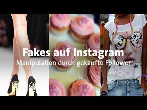 Manipulation auf Instagram: Gekaufte Fake-Profile