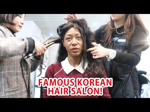 Korean Celebrity Hair Salon Experience! vlogmas