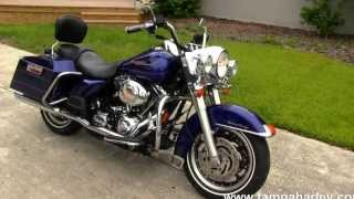 9. Used Harley Davidson Motorcycles for sale 2006 FLHR Road King