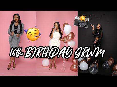 16th BIRTHDAY GRWM | BTS PHOTOSHOOT🥳