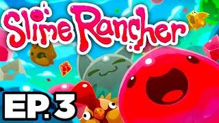 • EXPLODING GORDO SLIME, GOLD & LUCKY SLIMES, SLIME KEY!! - Slime Rancher Ep.3 (Gameplay Let's Play)