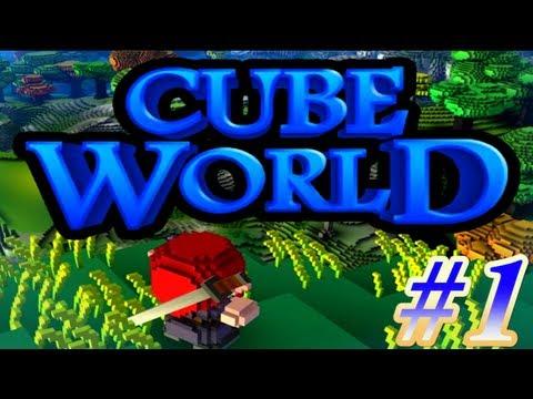 CubeWorld - Сказочные похождения #1 - Отличное начало! (видео)