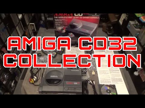 Amiga CD32 Console & Game Collection