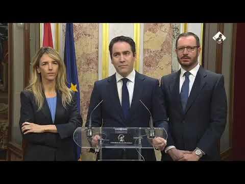 """Teodoro García tacha de """"fraude electoral"""" y de """"anticonstitucional"""" el discurso de Sánchez."""