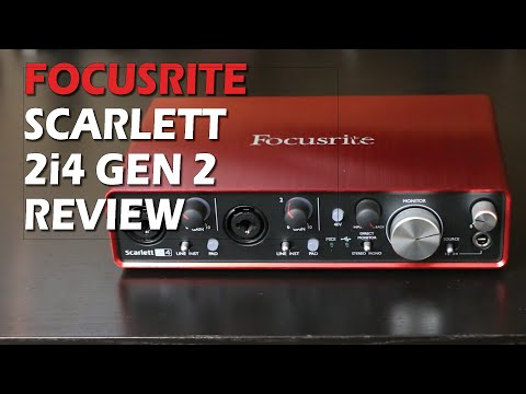 Focusrite Scarlett 2i4 Gen 2 Review