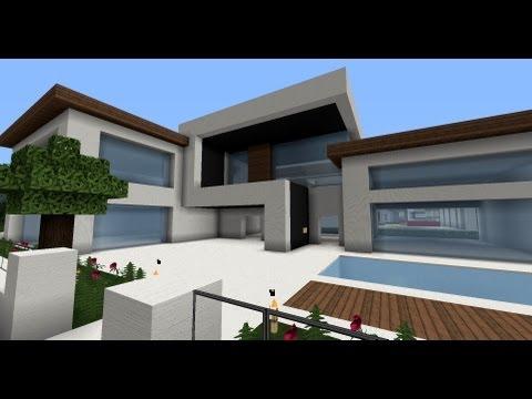 moderne kuće - Die besten und schönsten modernen Häuser! Server IP: 176.9.36.213 Baut mit - Lasst uns eine riesige moderne Welt erschaffen. Wolkenkratzer, moderne Häuser, R...
