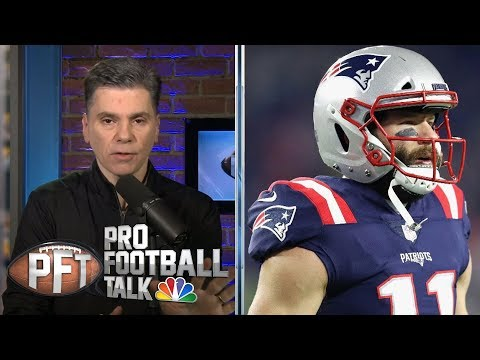 Video: Julian Edelman avoids PED discussion with Peter King   Pro Football Talk   NBC Sports