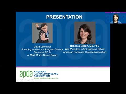 Dr  Gilbert Hosts: Dance for PD with David Leventhal | APDA