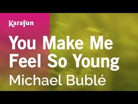 You Make Me Feel So Young - Michael Bublé | Karaoke Version | KaraFun