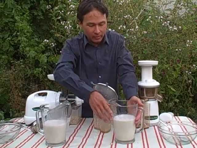 Homemade Almond Milk Slow Juicer : Best Juicer For Making Almond Nut Mp3DownloadOnline.com