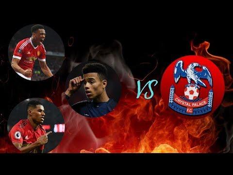 Rashford - Martial - Greenwood vs Crystal Palace 2019||HD