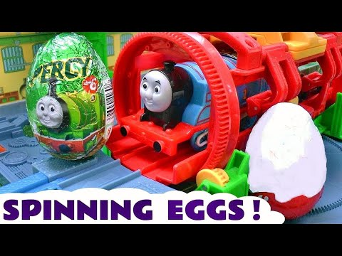 Thomas & Friends Surprise Eggs and Kinder Surprise Egg Surprise Toys Thomas and Friends Eggs Sodor