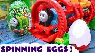 Thomas and Friends Surprise Eggs Toy Trains | Thomas y sus amigos Kinder huevos sorpresa TT4U