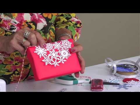 DIY With Sharyn Sowell: Snowflake Gift Wrapping