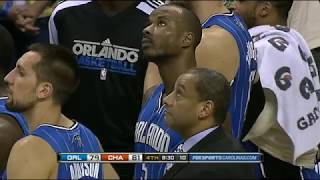 Kwame Brown Gave His All In This Game (Do or Die for 8th seed). Fight with Turkoglu. (06.04.2011)