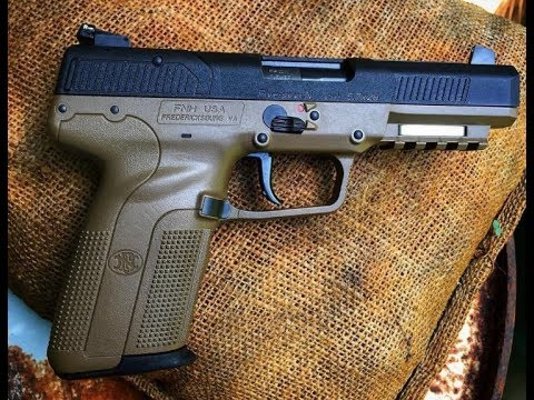 FN Five Seven Pistol Review And Body Armor Test