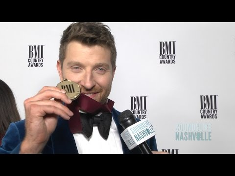 On the BMI Awards Red Carpet