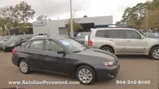 Autoline's 2008 Subaru Impreza Sedan (Natl) 2.5i Walk Around Review Test Drive