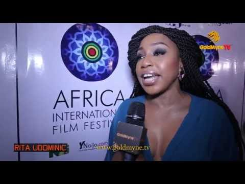INI EDO, RITA DOMINIC, KUNLE AFOLAYAN & OTHERS AT AFRIFF 2015 OPENING 'DAY ONE'