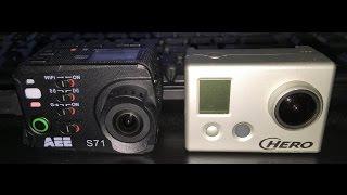 Gopro Hero HD vs AEE S71