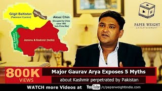 Video Major Gaurav Arya Exposes 5 Myths about Kashmir perpetrated by Pakistan - A Soldier Speaks E04 MP3, 3GP, MP4, WEBM, AVI, FLV Desember 2018