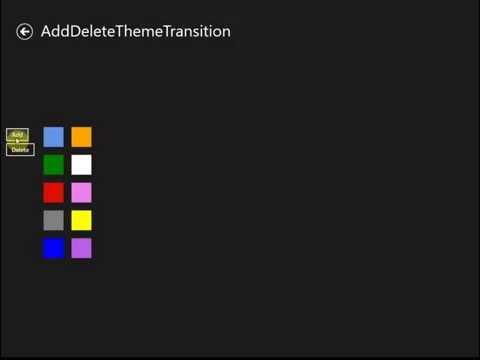 Ejemplo Transiciones Universal Apps