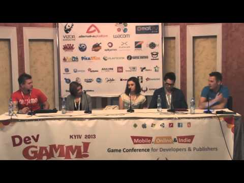 Discussion Panel «Analytics, Advertising & Monetization in mobile games» (DevGAMM Kyiv 2013)