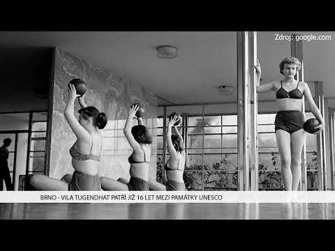 TV Brno 1: 14.12.2017 Vila Tugenhat patří již 16 let mezi památky Unesco