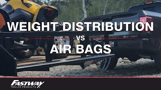 Video The Difference Between Using Weight Distribution and Air Bags to Level Your Load MP3, 3GP, MP4, WEBM, AVI, FLV Agustus 2019