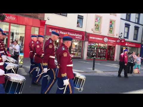 Ayr Orange Order Evening Parade 30/06/2018