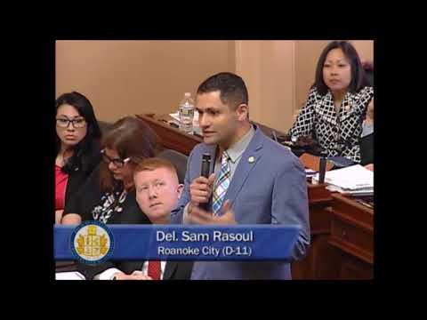 Del. Sam Rasoul (D-Roanoke) Pushes Back on Conservative Health Care Reforms