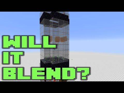Will It Blend? - Fun Minecraft Mob Grinder Tutorial | Docm77