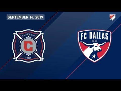 Video: HIGHLIGHTS: Chicago Fire vs. FC Dallas | September 14, 2019