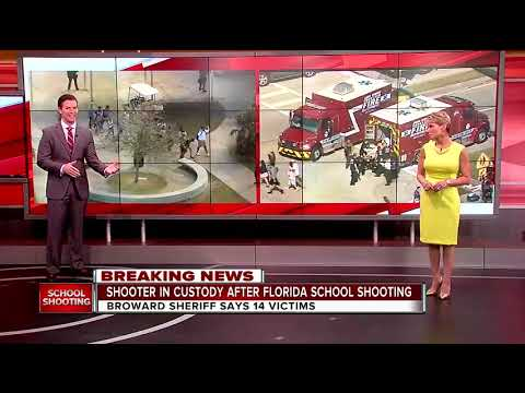 Broward Sheriff says 14 victims in high school shooting