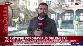 Koronavirüs Sebebiyle Gaziosmanpaşa Geneli Dezenfekte Çalışmaları - Akit Tv