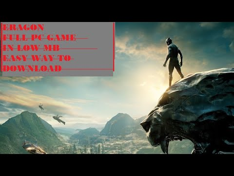 How To Download Eragon Full Version PC Game For Free #IN LOW MB & easily