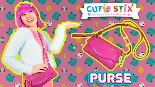 """Make your purse stand out among the rest, using Cutie Stix you can customize it any way you like!How to Decorate Your Purse with Cutie Stix  Official Cutie StixFrom the makers of Orbeez and Pom Pom WowThe official YouTube channel of Cutie Stix""""Continuous Cuts, Countless Creations! Seriously Cute!""""1) Cut the stix to create beads. Use the CORING UNIT to core the beads.2) Create necklaces, bracelets, and more by using the threader.3) Show off your finished jewelry design. Be your own designer!From the makers of Orbeez and Pom Pom Wow by Maya ToysSUBSCRIBE:https://www.youtube.com/channel/UCHx4Hfo0-MpUEPRTflJjWLw?sub_confirmation=1Maya Toys 2016http://www.CutieStix.com"""