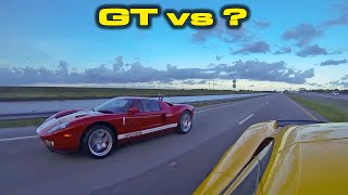GARAGE UPDATE * GT500, Corvette C8, Tesla Model Y * AND Ford GT Throwback Thursday Compilation by DragTimes