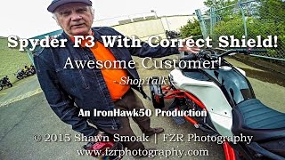 10. Spyder F3 With Correct Shield! - Awesome Customer! | ShopTalk