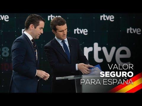 Resumen de los mejores momentos de Pablo Casado en el debate de RTVE